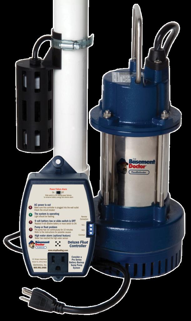 Sump Pump | FloodDefender | The Basement Doctor | Akron Ohio