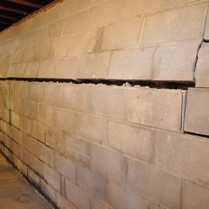 Foundation Repair | Bowing Wall | The Basement Doctor | Akron Ohio