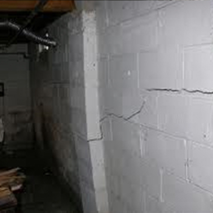 Foundation Repair | Failed Wall Stabilization System | The Basement Doctor | Akron Ohio