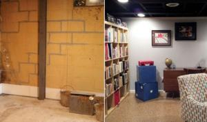 Foundation Repair | Before & After | The Basement Doctor | Akron Ohio