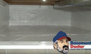 Crawl Space Repair | Encapsulation | The Basement Doctor | Akron Ohio