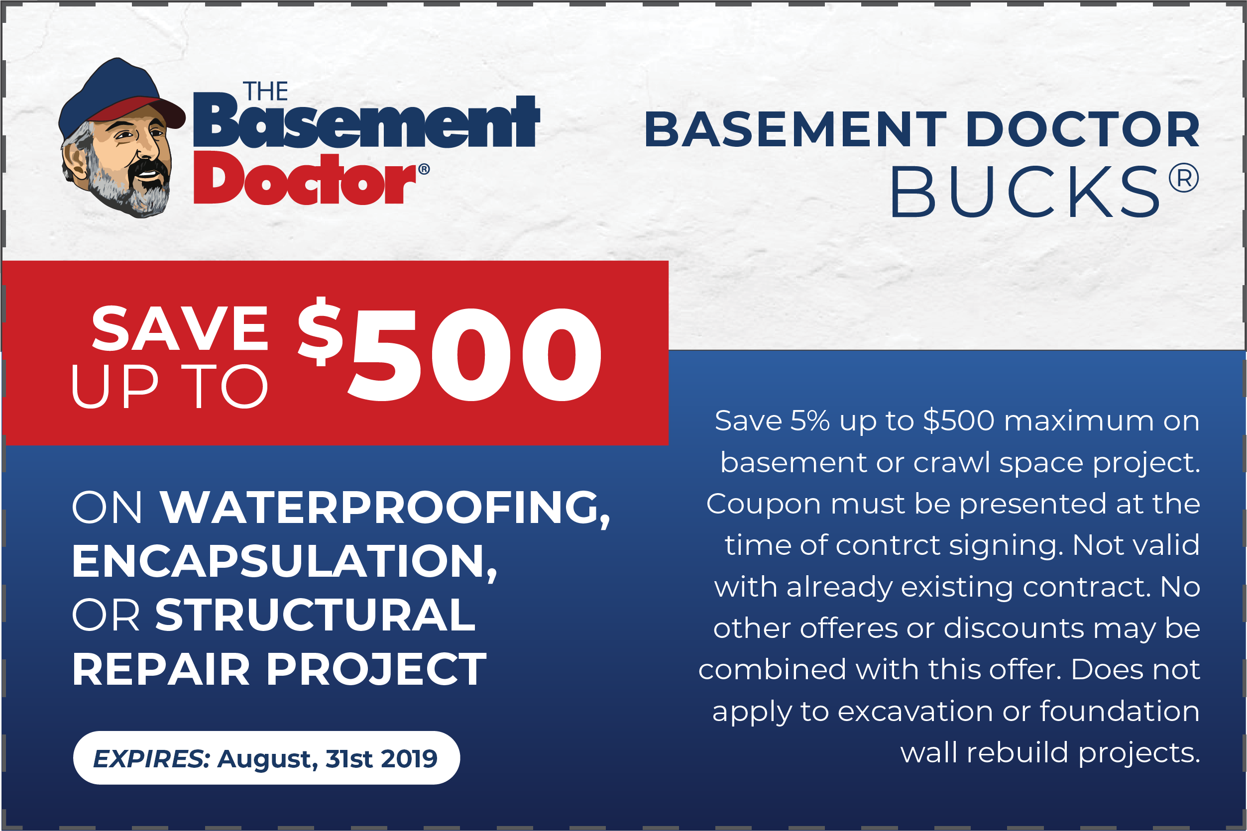 Basement Doctor Akron Coupon - Expires June 30th, 2020